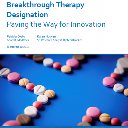 Breakthrough Therapy Designation