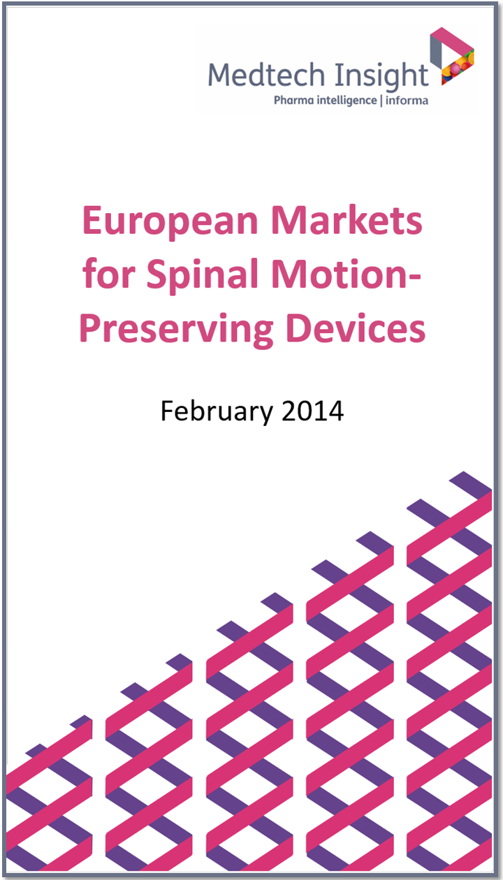 European Markets for Spinal Motion-Preserving Devices