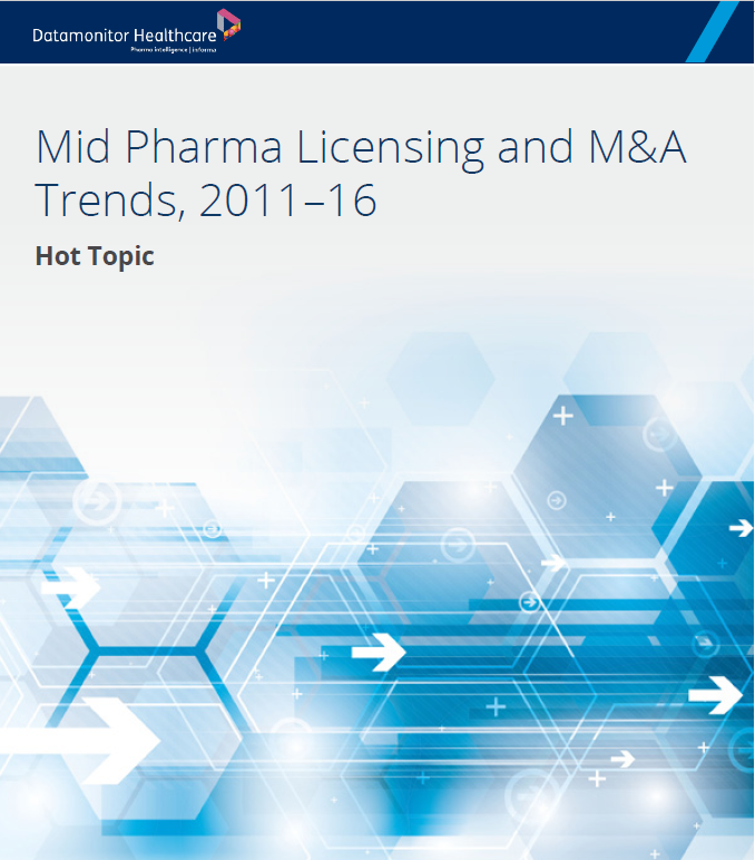 Mid Pharma Licensing and M&A Trends, 2011–16