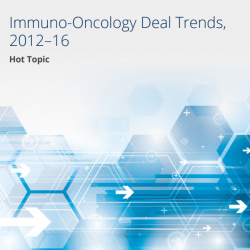 Immuno-Oncology Deal Trends, 2012–16