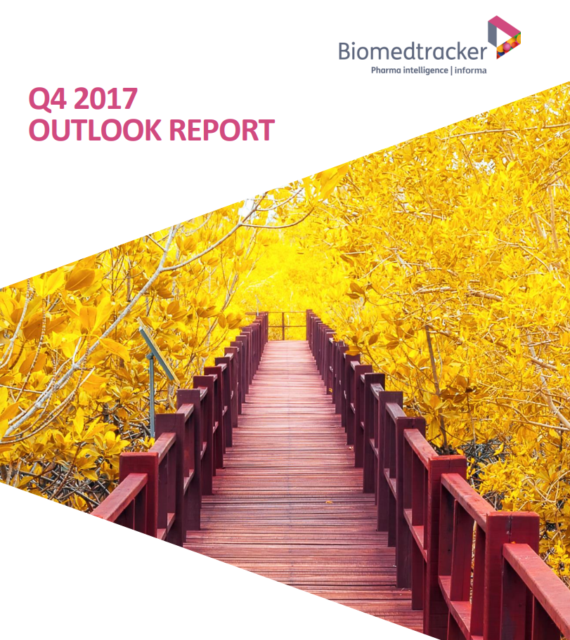 Biomedtracker Q4 2017 Outlook Report