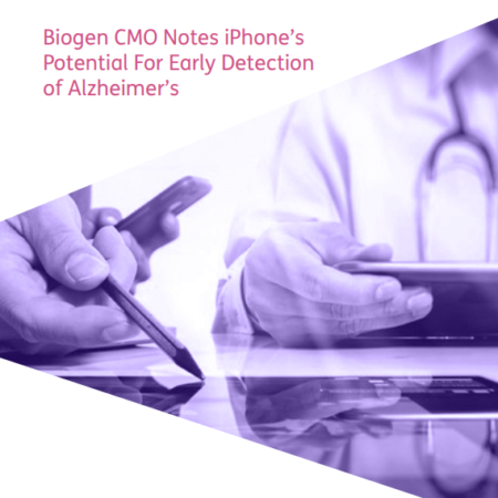 Biogen CMO Notes iPhone's Potential cover