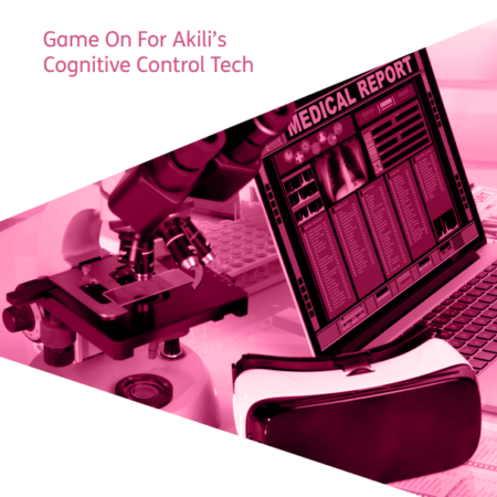 Game On For Akili's Cognitive Control Techcover