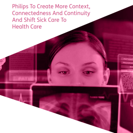 Philips To Create More Context, Connectedness cover
